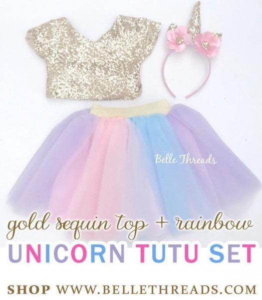 Unicorn Tutu Set