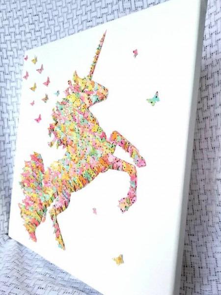 Unicorn Wall Art   Unicorn Wall Decor   Unicorn Bedroom