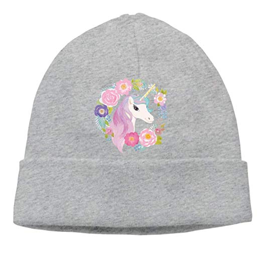 Unicorn Wreath Unisex Knitted Hat