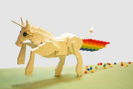 Want  Lego Unicorn With Rainbow Blast