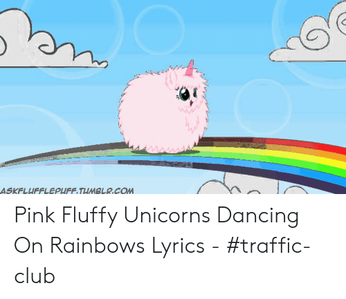 Wwar Askflufflepufftumblrcom Pink Fluffy Unicorns Dancing On