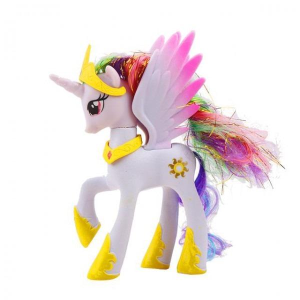 14cm Hasbro My Little Pony Toys Rainbow Unicorn
