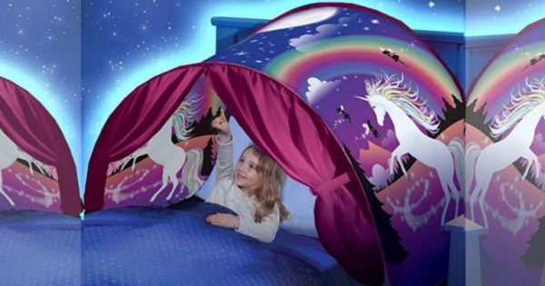 Amazon  Dream Tents Unicorn Fantasy Only $9!