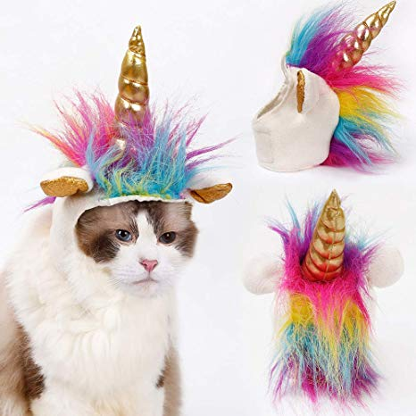 Amazon Com   Cat Costume Halloween Unicorn Hat Costume For Small