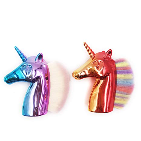 Amazon Com   Unicorn Dust Remover Brush Nail Powder Brush Cleaner
