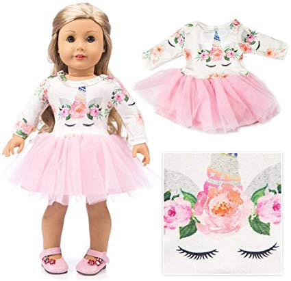 Amazon Com  American Girl Doll Unicorn Clothes Outfit Pajamas 18