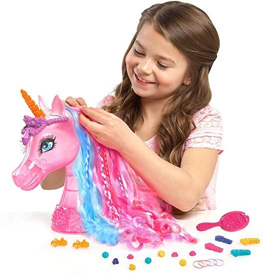 Amazon Com  Barbie And The Secret Door Unicorn Styling Head  Toys