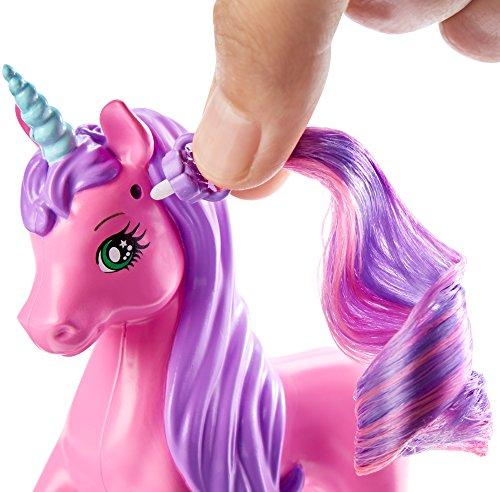 Amazon Com  Barbie Endless Hair Kingdom Unicorn  Toys & Games