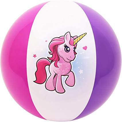 Amazon Com  Coconut Float's Unicorn Beach Ball 27   Toys & Games