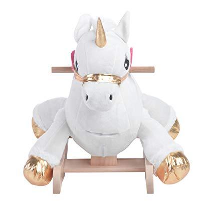 Amazon Com  Critters Angel The Unicorn Rocking Horse, Kids Rocker