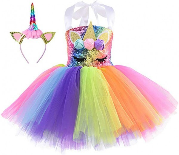 Amazon Com  Cuteshower Girl Unicorn Costume, Baby Unicorn Tutu