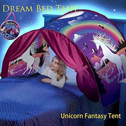 Amazon Com  Dream Tent Unicorn Fantasy For Kids Play Tent Foldable