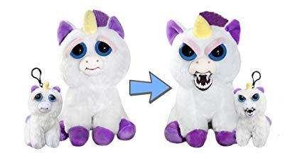 Amazon Com  Feisty Pets Glenda Glitterpoop And Mini Unicorn Glenda
