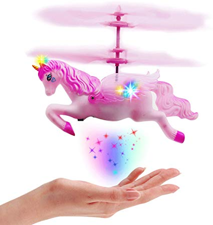Amazon Com  Flying Helicopter Unicorn Toys Gifts For 5 6 7 8