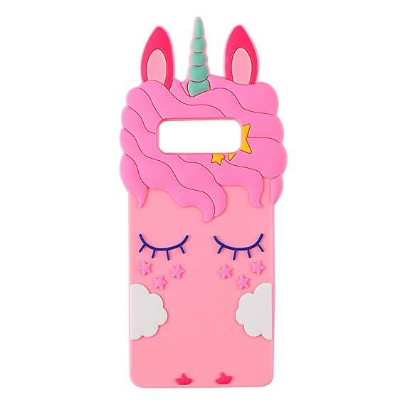 Amazon Com  Joyleop Pink Unicorn Case For Samsung Galaxy Note 8