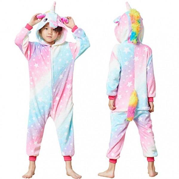 Amazon Com  Kids Animal Onesie Unicorn Pajamas For Boys And Girls