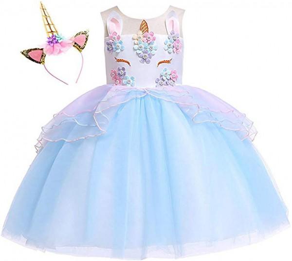 Amazon Com  Kokowaii Fancy Girls Unicorn Dress Up Fancy Costume