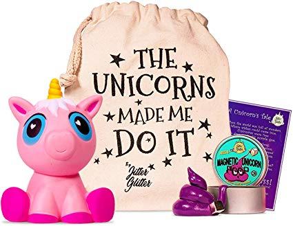 Amazon Com  Magnetic Unicorn Putty Stress Relief Kit