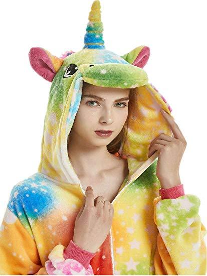 Amazon Com  Qqonsie Adult Onesies For Women Unicorn Pajamas Men