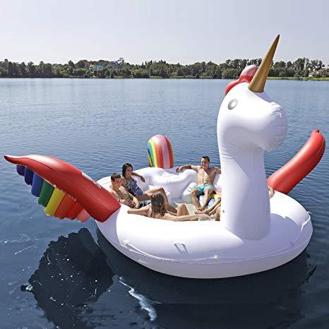 Amazon Com  Sun Pleasure Party Bird Island Giant Unicorn Float