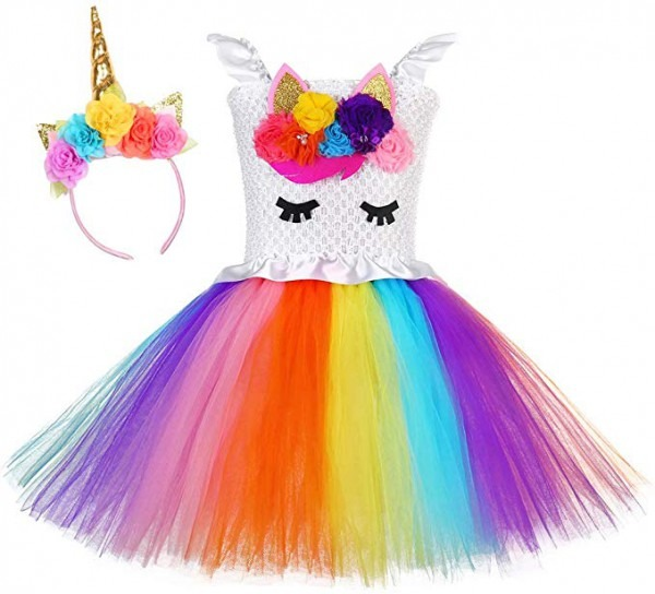 Amazon Com  Tutu Dreams Unicorn Costume For Girls 1