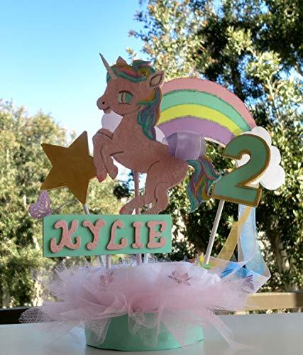 Amazon Com  Unicorn Birthday Centerpiece
