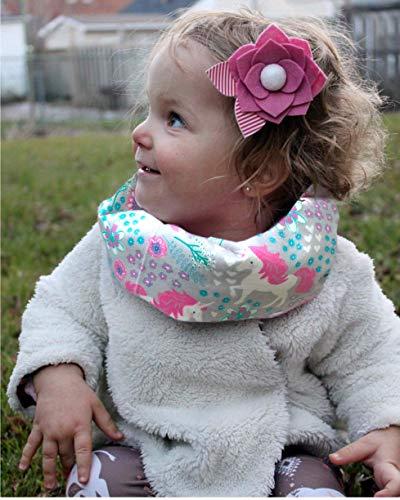Amazon Com  Unicorn Flannel Baby Toddler Infinity Scarf  Handmade