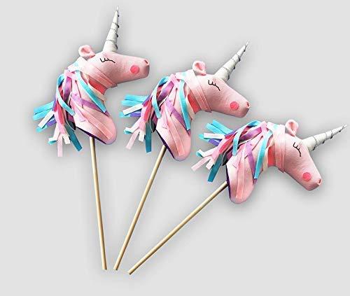 Amazon Com  Unicorn Hobby Horse On A Stick, Unicron Staffed Animal