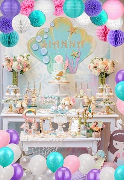 Amazon Com  Unicorn Pastel Party Decorations & Party Supplies