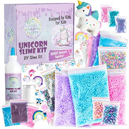 Amazon Com  Unicorn Slime Kit For Girls