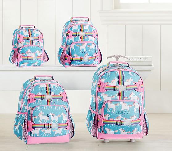 Aqua Unicorn Kids Backpack
