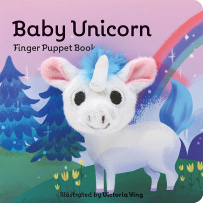 Baby Unicorn  Finger Puppet Book By Chronicle Books, Victoria Ying