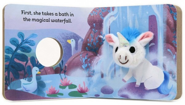 Baby Unicorn  Finger Puppet Book (temporarily Out Of Stock