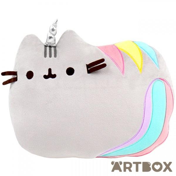 Buy Pusheen The Cat Pusheenicorn Laying Down Cushion At Artbox