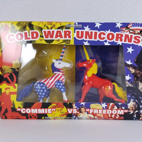Cold War Unicorns  Box Has Been Opened But They Are