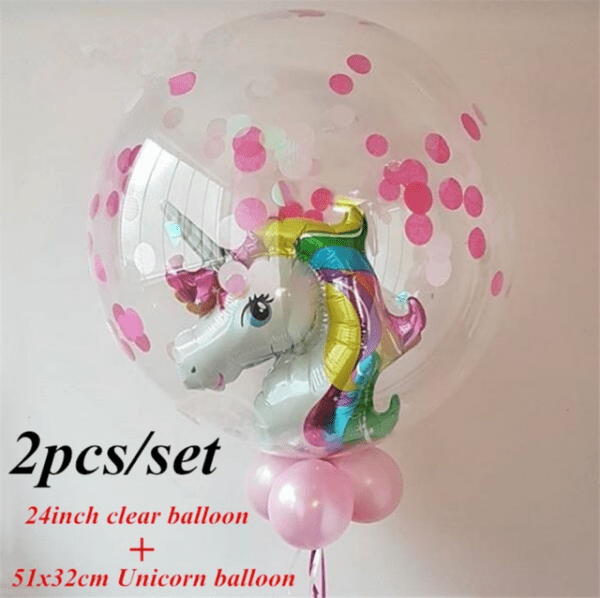 Costume Supercenter Bb045603 Unicorn Fantasy 18 In  Balloon For