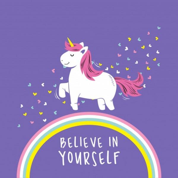 Cute Unicorn Quotes Vector