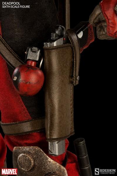 Deadpool Sixth Scale Figure Holster And Gun – Geekalerts