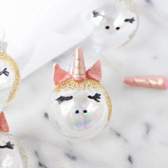 Diy Unicorn Ornaments (craft Gawker)