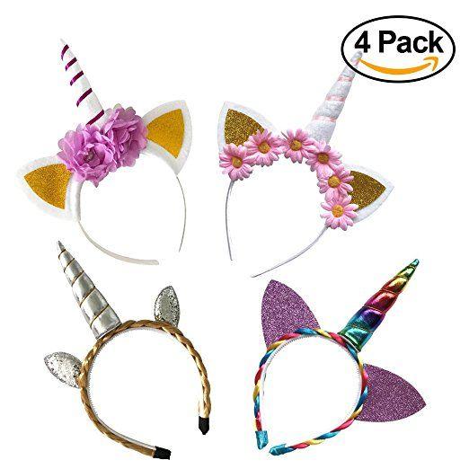 Easy Diy Felt Unicorn Horn Headband Tutorial & Free Printable