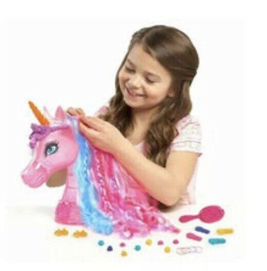 Ebay  Sponsored Barbie The Secret Door Rainbow Unicorn Styling
