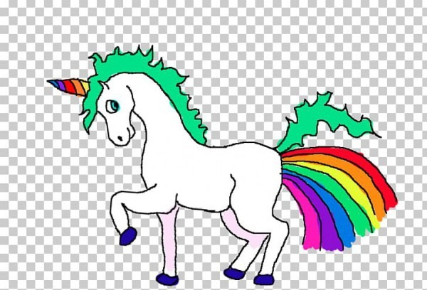 Fat Unicorn Line Art Pony Robot Unicorn Attack Png, Clipart