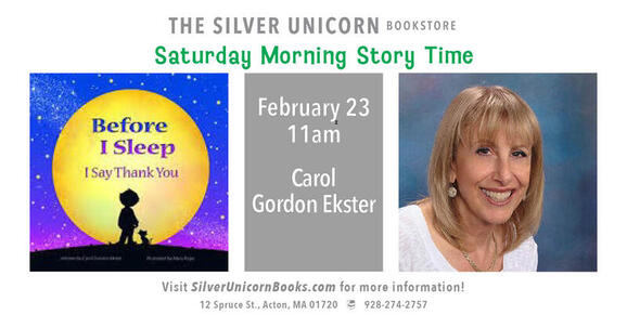 Feb 23 · Saturday Morning Story Time At The Silver Unicorn
