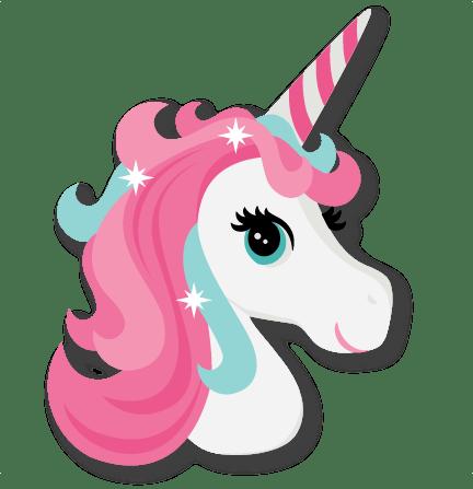 Free Unicorn Head Clipart