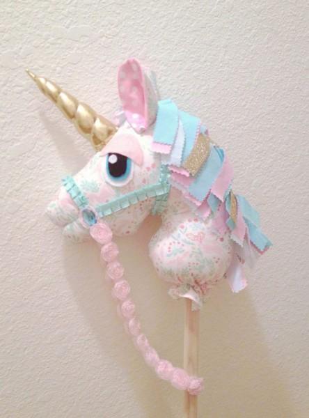 Hobby Horse Toy Horse Stick Horse Unicorn Whimsy Woo Horse