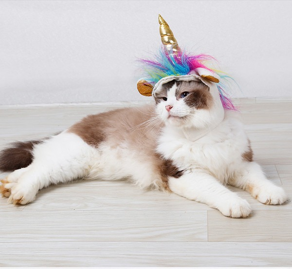 Hot Selle Cat Costume Cute Unicorn Costume For Cat Kitten, Cute