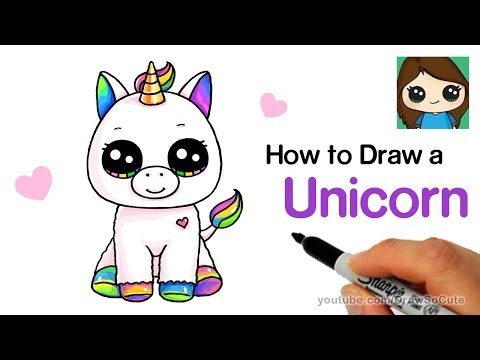 How To Draw A Unicorn Easy
