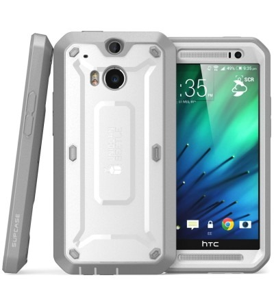 Htc One M8 Unicorn Beetle Pro Full Body Rugged Case With Screen