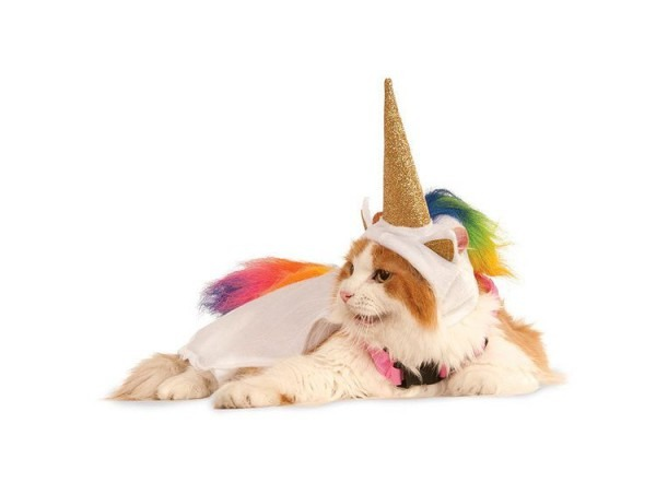 Light Up Unicorn Cat Costume