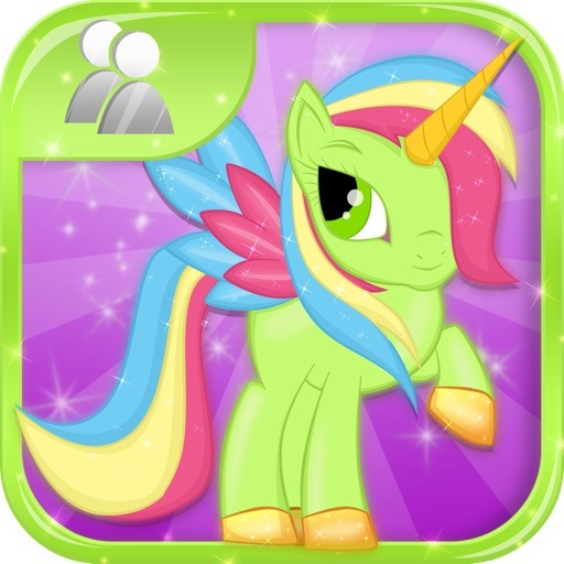 Little Magic Unicorn Dash   My Pretty Pony Princess Vs Shark